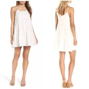 BB Dakota Kendra Embroidered A-Line Dress